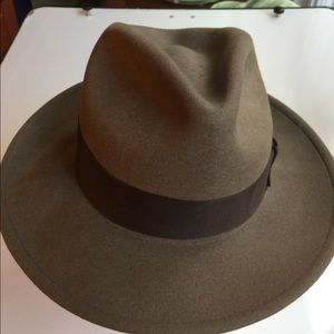 STETSON CRUSHABLE WOOL HAT MADE IN USA SIZE MED
